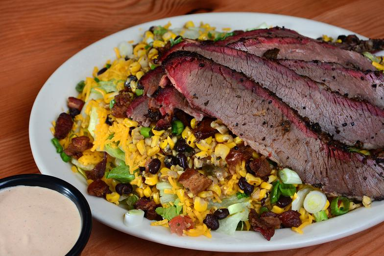 SALAD WITH BRISKET